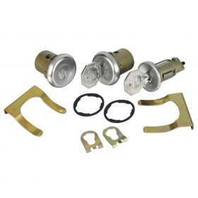 1968 Cadillac 4-Door Models Ignition and Door Lock Set With Two Octagon Keys (11 Pieces) REPRODUCTION Free Shipping In The USA