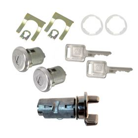 1979 1980 1981 Cadillac Ignition and Door Lock Cylinder Set With Square Keys (11 Pieces) REPRODUCTION Free Shipping In The USA