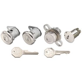 1959 1960 Cadillac (EXCEPT Series 75 Limousine) 4-Door Sedan Lock Set For Doors, Ignition and Trunk (6 Pieces) REPRODUCTION Free Shipping In The USA
