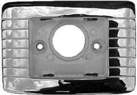 1961 1962 Cadillac Convertible Rear Quarter Arm Rest Courtesy Light Housing Bezel REPRODUCTION Free Shipping In The USA