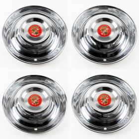 1954 1955 Cadillac Hubcap/Wheel-covers With Emblems Used