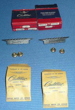 1962 Cadillac Hub Cap Wheel Cover Emblem NOS 1 Pair Free Shipping In The USA