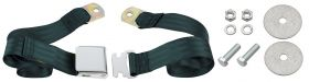 Cadillac Seat Belt Lap Style Dark Green REPRODUCTION Free Shipping In The USA