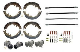 1958 1959 Cadillac (EXCEPT Commercial Chassis) Deluxe Drum Brake Kit (64 Pieces) REPRODUCTION Free Shipping In The USA