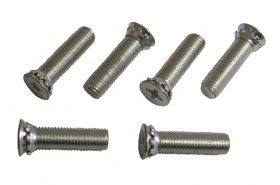 1956 1957 1958 1959 1960 1961 Cadillac (See Details) Door Jamb Striker Mounting Screws Set of 6 Pieces REPRODUCTION