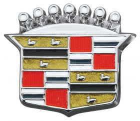 1964 1965 1966 1967 1968 Cadillac Trunk Lock Cover Emblem Crest REPRODUCTION