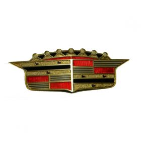 1956 Cadillac Hood Crest REPRODUCTION Free Shipping In The USA