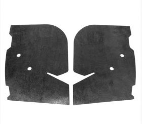 1967 Cadillac (EXCEPT Eldorado) Rear Bumper End Rubber Fillers 1 Pair REPRODUCTION Free Shipping In The USA