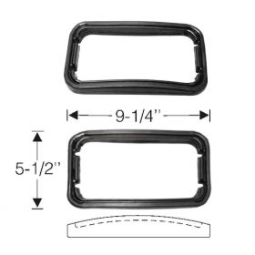1946 1947 1948 1949 Cadillac (See Details) Fog Light Mounting to Fender Rubber Gasket 1 Pair REPRODUCTION Free Shipping In The USA