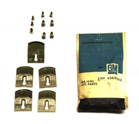 Cadillac (See Details) Front Door Molding Clips Set of 14 Pieces NOS Free Shipping In The USA