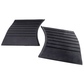 1941 Cadillac Series 61, Series 63, And Series 67 Rubber Gravel Shields 1 Pair REPRODUCTION Free Shipping In The USA