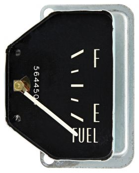 1961 1962 Cadillac (EXCEPT Series 75 Limousine and Commercial Chassis) Vertical Sweep Fuel Gauge REPRODUCTION Free Shipping In The USA