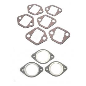 1956 1957 1958 1959 1960 1961 1962 1963 1964 1965 1966 1967 Cadillac Exhaust Manifold and Flange Gasket Set (9 Pieces) REPRODUCTION Free Shipping In The USA