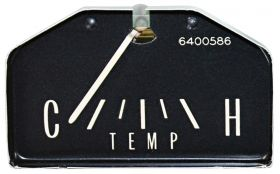 1963 1964 1965 Cadillac (See Details) Horizontal Sweep Temperature Gauge REPRODUCTION Free Shipping In The USA