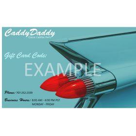 Caddy Daddy Gift Card