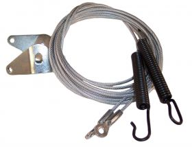 1971 Cadillac Convertible Top Side Tension Cables 1 Pair REPRODUCTION Free Shipping In The USA