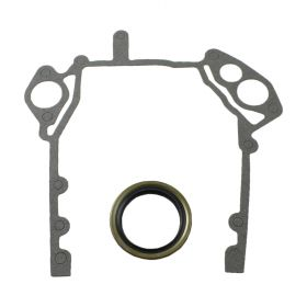 1968 1969 1970 1971 1972 1973 1974 Cadillac Timing Cover Gasket Set (2 Pieces) REPRODUCTION Free Shipping In The USA