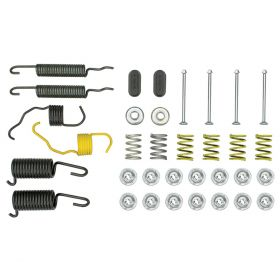 1961 1962 1963 1964 1965 1966 1967 1968 Cadillac Front Drum Brake Hardware Kit (36 Pieces) REPRODUCTION Free Shipping In The USA
