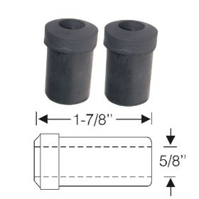 1954 1955 1956 1957 Cadillac Rear Spring And Shackle Bushing 1 Pair REPRODUCTION