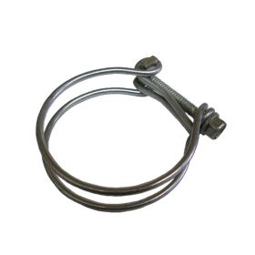 Cadillac Double Wire Hose Clamp 2 Inch Diameter REPRODUCTION