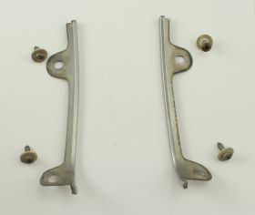 1987 1988 1989 1990 Allante Headlight Surround Stainless Trim 1 Pair USED Free Shipping In The USA