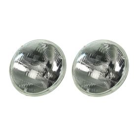 1958 1959 1960 1961 1962 1963 1964 1965 1966 1967 1968 1969 1970 1971 1972 1973 1974 Cadillac Headlight Bulbs (Halogen) High Beam 1 Pair REPRODUCTION Free Shipping In The USA