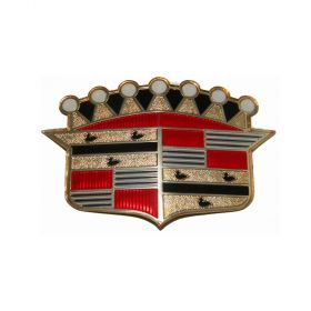 1953 Cadillac Hood Crest REPRODUCTION Free Shipping in the USA