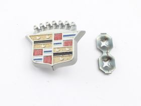 1969 1970 1971 Cadillac Deville & Fleetwood Steering Wheel Emblem NOS Free Shipping In The USA