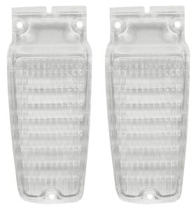 1963 Cadillac Back Up Light Lenses 1 Pair REPRODUCTION Free Shipping In The USA