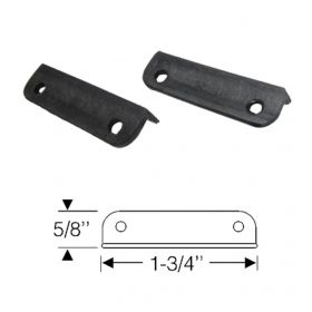 1942 1946 1947 Cadillac Series 62 2 Door Convertible Rubber Weatherlips 1 Pair REPRODUCTION