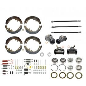 1965 1966 Cadillac (EXCEPT Series 75 Limousine and Commercial Chassis) Master Drum Brake Kit With Bearings and Seals (91 Pieces) REPRODUCTION Free Shipping In The USA