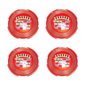 1957 1958 Cadillac (See Details) Wheel Cover Hub Cap Medallion Set (4 Pieces) REPRODUCTION Free Shipping In The USA