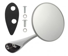 1954 1955 Cadillac Right Passenger Side Exterior Rear View Mirror REPRODUCTION Free Shipping In The USA