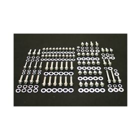1949 1950 1951 1952 1953 1954 1955 1956 1957 1958 1959 1960 1961 1962 Cadillac Engine Hex And Indented Hex Bolt Kit (160 Pieces) REPRODUCTION Free Shipping In The USA
