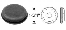 "1947 Cadillac (See Details) Access Hole Rubber Plug 1-3/4""  REPRODUCTION"