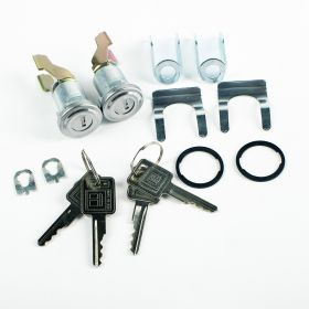 1954 1955 1956 Cadillac 4-Door Models Door Locks (Short Cylinder WITH U Pawl) With Keys Set (14 Pieces) REPRODUCTION Free Shipping In The USA