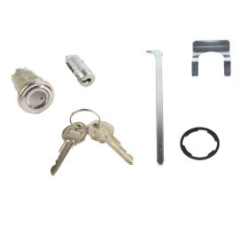 1957 1958 Cadillac Glove Box And Trunk Locks With Pear Head Keys Set (7 Pieces) REPRODUCTION Free Shipping In The USA