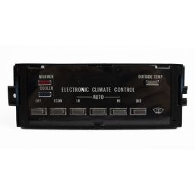 1982 1983 1984 1985 Cadillac Eldorado and Seville Climate Control Head Unit (WITHOUT Defog) REFURBISHED Free Shipping In The USA