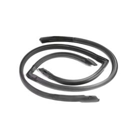 1980 1981 1982 1983 1984 1985 Cadillac Seville Front Door Roof Rail Rubber Weatherstrips 1 Pair REPRODUCTION Free Shipping In The USA