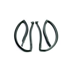 1980 1981 1982 1983 1984 1985 Cadillac Seville Rear Door Roof Rail Rubber 1 Pair REPRODUCTION Free Shipping In The USA