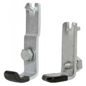 1961 1962 1963 1964 Cadillac (EXCEPT Series 75 Limousine) Front Door Window Stop Brackets 1 Pair REPRODUCTION Free Shipping In The USA