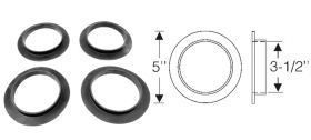 1939 1940 1941 1942 1946 1947 1948 1949 Cadillac (See Details) Coil Spring Insulator Rubber Pad Set (4 Pieces) REPRODUCTION Free Shipping In The USA