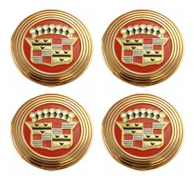 1956 Cadillac (See Details) Wheel Cover Hubcap Medallion Set (4 Pieces) REPRODUCTION Free Shipping In The USA