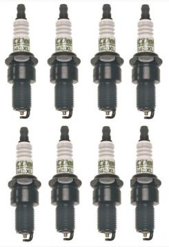 1949 1950 1951 1952 1953 1954 1955 1956 1957 1958 1959 1960 1961 1962 1963 1964 Spark Plugs A/C Delco Set of 8 (Copper) REPRODUCTION  Free Shipping In The USA
