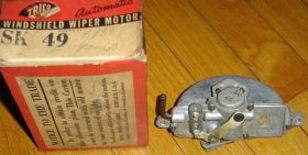 1939 Cadillac Closed & Convertible Series 61 (Late) Vacuum Wiper Motor NOS Free Shipping In The USA