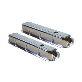 1968 1969 1970 1971 1972 1973 1974 1975 1976 1977 1978 1979 1980 1981 1982 1983 1984 Cadillac Chrome Steel Valve Covers 1 Pair (472, 500, 425, 368 Engines) REPRODUCTION Free Shipping In The USA