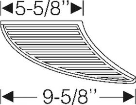 1942 1946 1947 Cadillac (See Details) Door Opening Rubber Step Pads 1 Pair REPRODUCTION Free Shipping In The USA