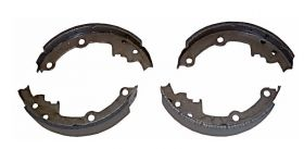 1985 1986 Cadillac Deville & Fleetwood Rear Brake Shoes 1 Pair REPRODUCTION Free Shipping In The USA