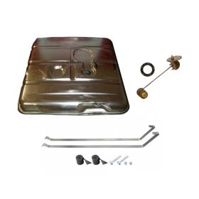 1959 1960 1961 1962 1963 1964 1965 1966 1967 1968 Cadillac Commercial Chassis Gas Tank Kit With Sending Unit and Straps 10 Pieces REPRODUCTION