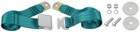 Cadillac Seat Belt Lap Style Turquoise REPRODUCTION Free Shipping In The USA